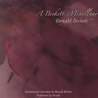 Arcady - Beckett Miscellany [DVD] USA import
