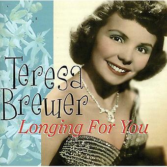 Teresa Brewer - længsel efter du [CD] USA import