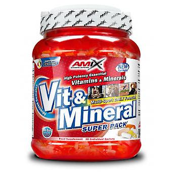 Amix Super Vit & Mineral Pack 30 Bags (Sport , Others)