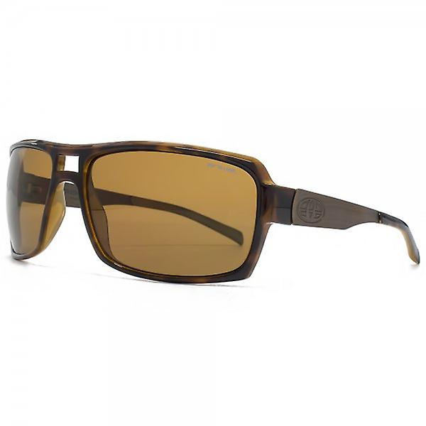 Animal Endo Plastic Aviator Sunglasses In Tortoiseshell