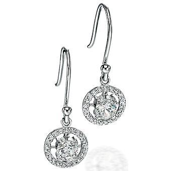 925 Silver Zirconium Fashionable Earring