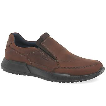 Ecco Luca Mens Casual Slip On Shoes