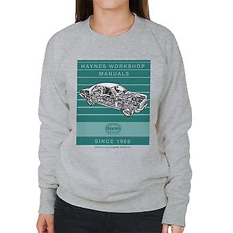 Haynes Workshop Manual 0108 Vauxhall Victor FE Stripe Women's Sweatshirt