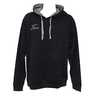 X-BLADES rugby hoodie [sort/grå]