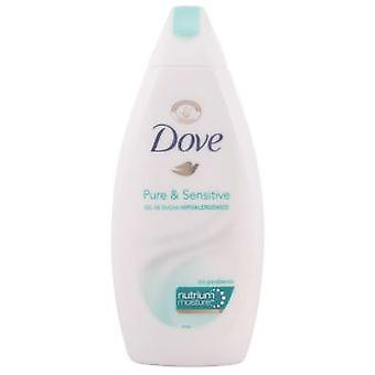 Dove Pure & Sensitive Shower Gel 400 Ml Hipoalergéncio
