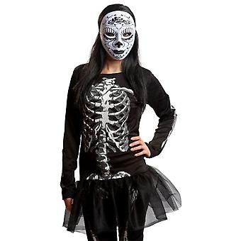 My Other Me Catrina Mask B / N (Costumes)