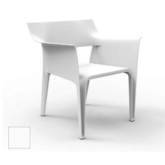 Vondom Eugeni Padded Pedrera Chair White