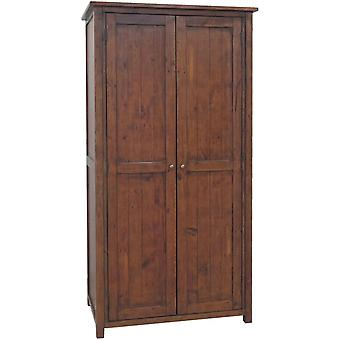 Classic Driftwood Reclaimed Pine Wardrobe