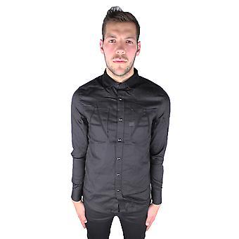 G-Star Raw A-Crotch Varsity Work Shirt Black