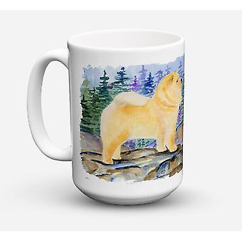 Chow Chow Dishwasher Safe Microwavable Ceramic Coffee Mug 15 ounce