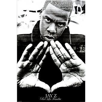 Impresión de cartel de cartel de las manos de Jay Z