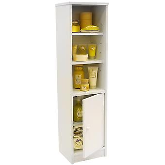 Jamerson - Compact Storage Cupboard With Shelves - White