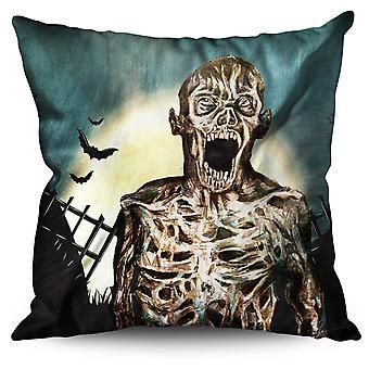 Dead Brain Corpse Linen Cushion Dead Brain Corpse | Wellcoda