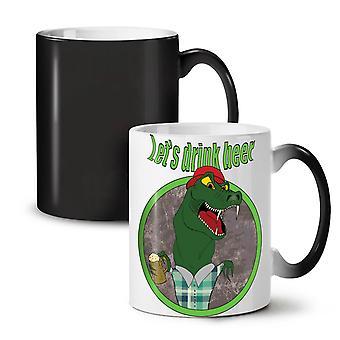 Crocodile Beer Cool Funny NEW Black Colour Changing Tea Coffee Ceramic Mug 11 oz | Wellcoda