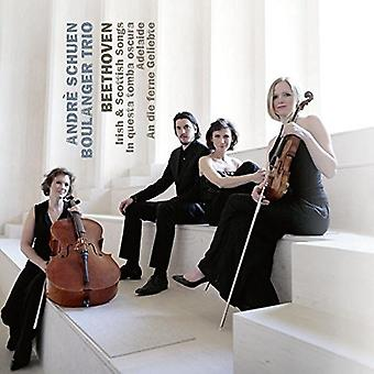 Schuen, Andre / Boulanger Trio - Beethoven Irish & Scottish Songs in Questa Tomba [CD] USA import