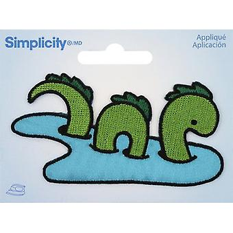 Wrights Iron-On Applique-Lochness Monster 193 5035