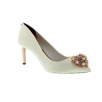 Ted Baker Dahrlin - Ivory Satin (White) Womens Heels