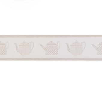 Designers Guild Beige Wallpaper Roll - Border Patterned Design - Colour: P428-03
