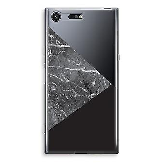 Sony Xperia XZ Premium Transparent Case (Soft) - Marble combination