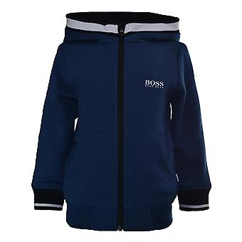 Hugo Boss Kids Hugo Boss Kids Teal Hooded Sweatshirt