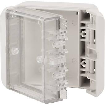Wall-mount enclosure, Build-in casing 80 x 89 x 47 Polycarbonate (PC)