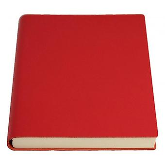 Coles Pen Company Sorrento Large Plain Journal - Red
