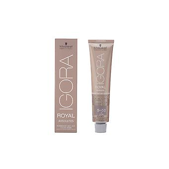 Schwarzkopf Igora Royal Absolutes Anti Age Color Creme 5 50 60ml Unisex