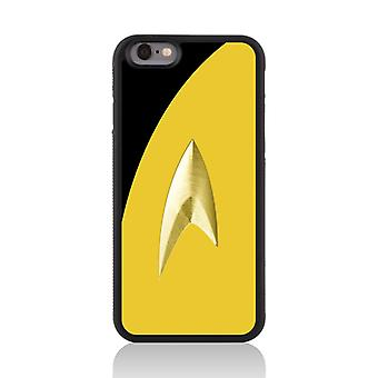 Call Candy Apple iPhone 7 Film Collection Trekki Uniform 2D Printed Case-Yellow