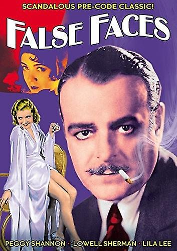 False Faces (1932) [DVD] USA import
