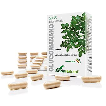 Soria Natural Capsules 21-S Glucomanann (Diet , Supplements)