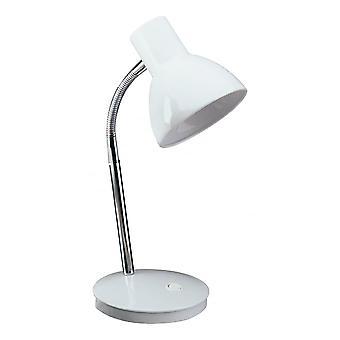 Lámpara de mesa de Harvard dará en blanco