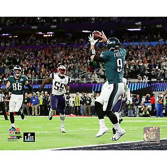 Nick Foles Touchdown Catch Super Bowl LII Photo Print