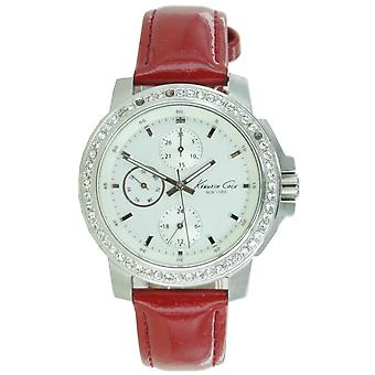 Kenneth Cole New York women's wrist watch analog leather 10021639 / KC6069
