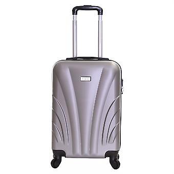 Slimbridge Ferro maleta dura de 55 cm, plata