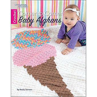 Leisure Arts-Corner To Corner Baby Afghans