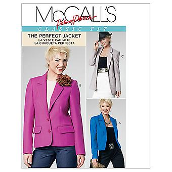 Misses' Lined Jackets in 3 Lengths-FF (16-18-20-22) -*SEWING PATTERN*