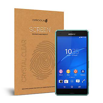 Celicious Vivid Invisible Glossy HD Screen Protector Film Compatible with Sony Xperia Z3 Compact [Pack of 2]