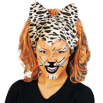 Wig of cats tiger cat wild