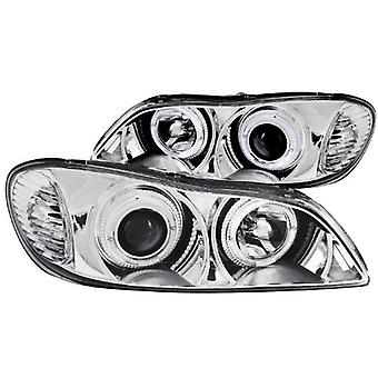 Anzo USA 121078 Infiniti I30 Projector with Halo Chrome Headlight Assembly - (Sold in Pairs)
