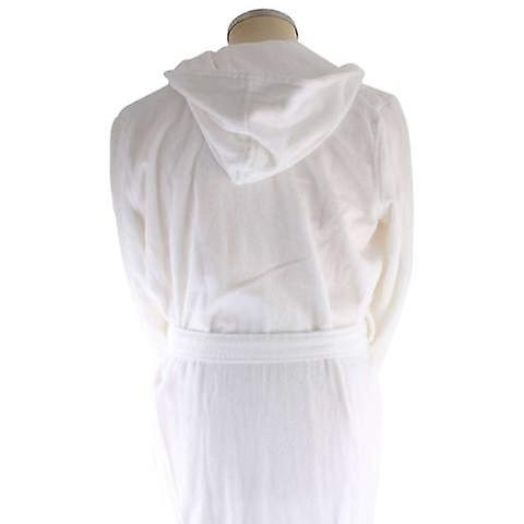 Bown of London Snowdrop Luxury Long Dressing Gown - White | Fruugo