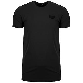 Antony Morato Antony Morato Black Patch Logo T-Shirt