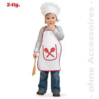 Chef de cocina cocinero panadero galleta niño traje a los niños