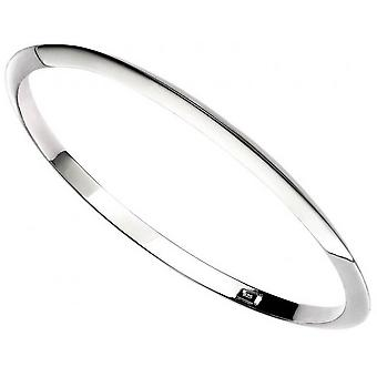 Beginnings Apex Bangle - Silver