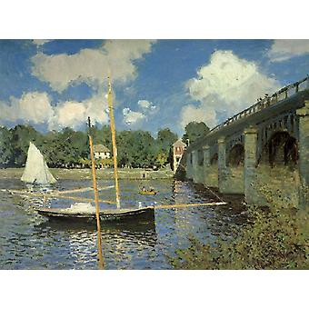 Le Pont routier, Argenteuil, Claude Monet, 50x40cm