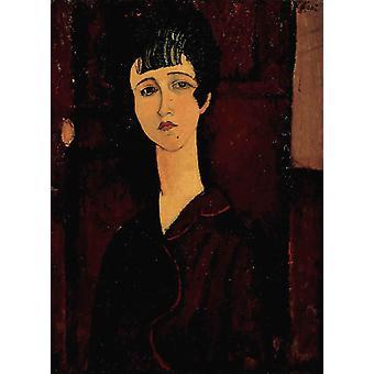 Portrait of a Girl, Amedeo Modigliani, 80(7) x59cm