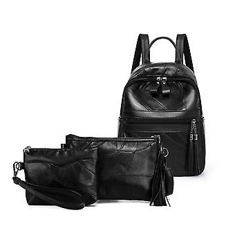 The backpack, shoulder bag, cosmetic bag, genuine lambskin 1041