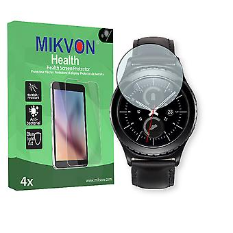 Samsung Gear S2 (2016) Screen Protector - Mikvon Health (Retail Package with accessories)