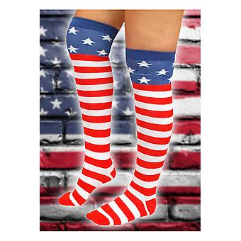 Strümpfe und Bein Zubehör Frauen Mode Knie Strumpf USA Amerika