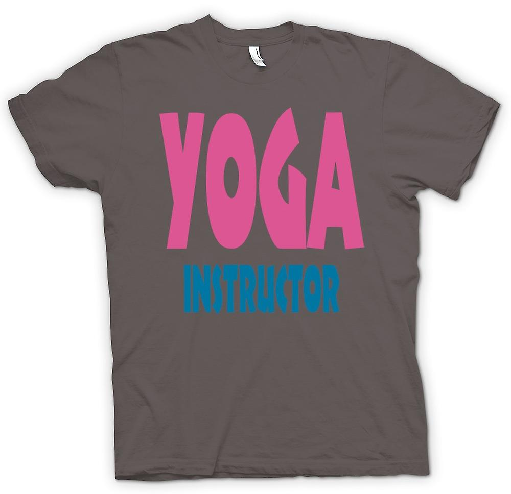 Womens T-shirt - Yoga Instructor Martial Art - Slogan