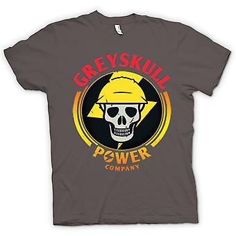 Mens T-shirt - Greyskull Power Company He-Man I have the Power
